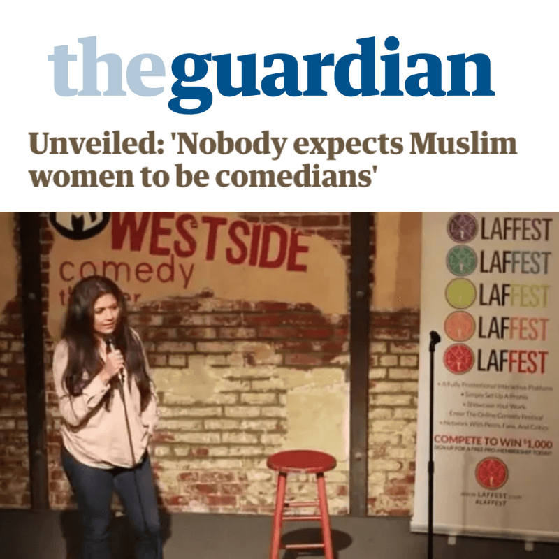 Unveiled: 'Nobody expects Muslim women to be comedians