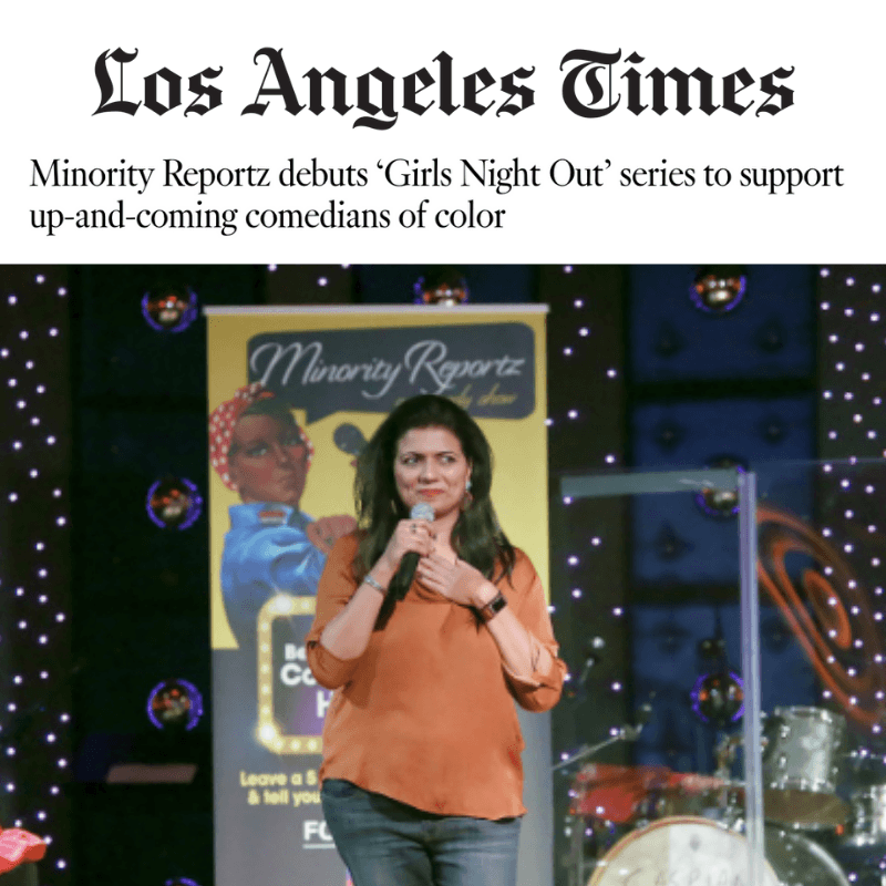Minority Reportz debuts 'Girls Night Out' series to support up-and-coming comedians of color