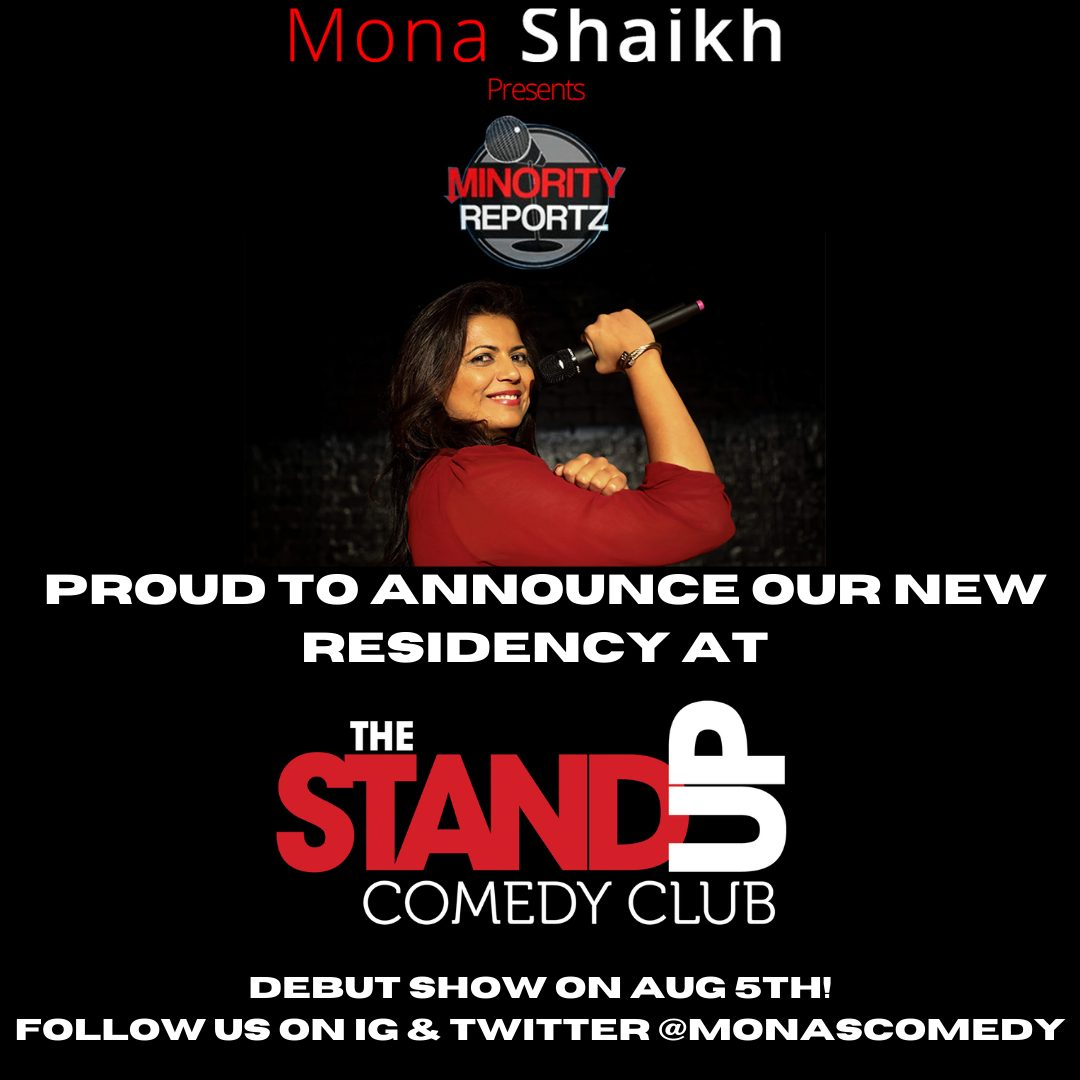 Minority Reportz has a BRAND NEW RESIDENCY at THE STAND UP COMEDY CLUB in BELLFLOWER!
