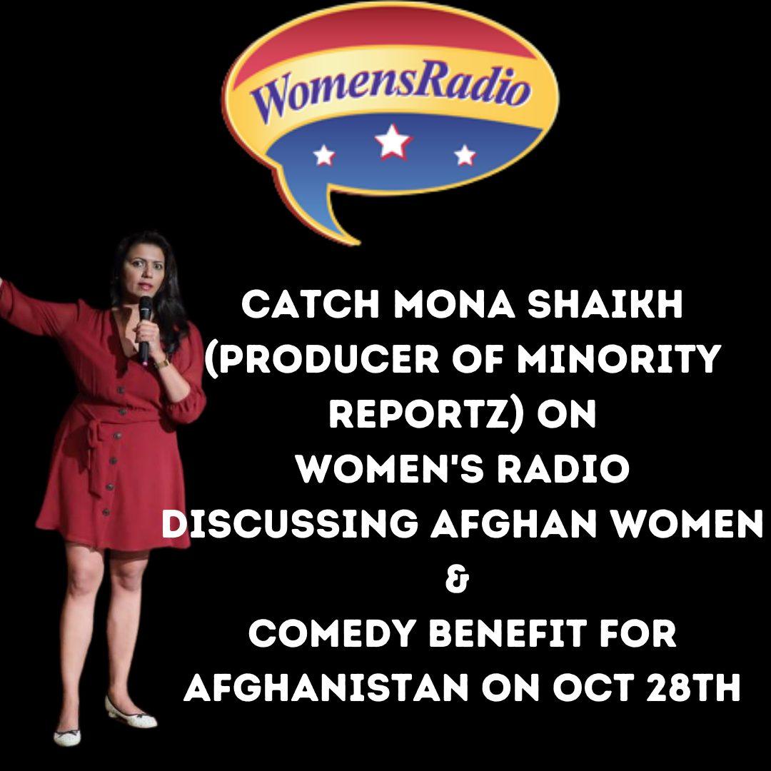 Mona Shaikh (producer of Minority Reportz) on Women's Radio
